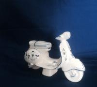 vespa1, Macchina e Moto, Ceramiche Caruso