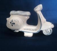 vespa2, Macchina e Moto, Ceramiche Caruso