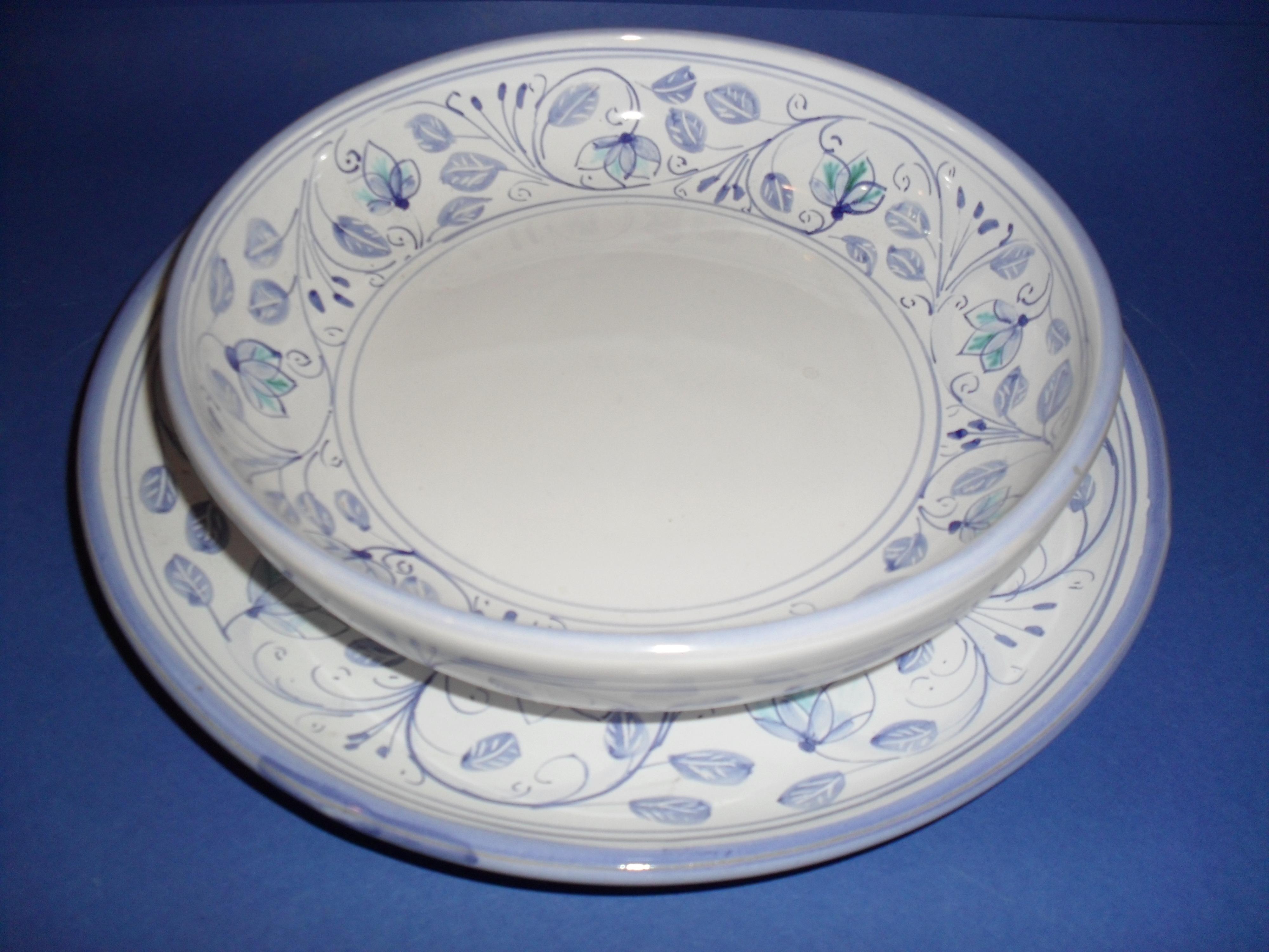 Servizio piatti ceramiche caruso giuseppe ceramiche - Servizi di piatti ikea ...