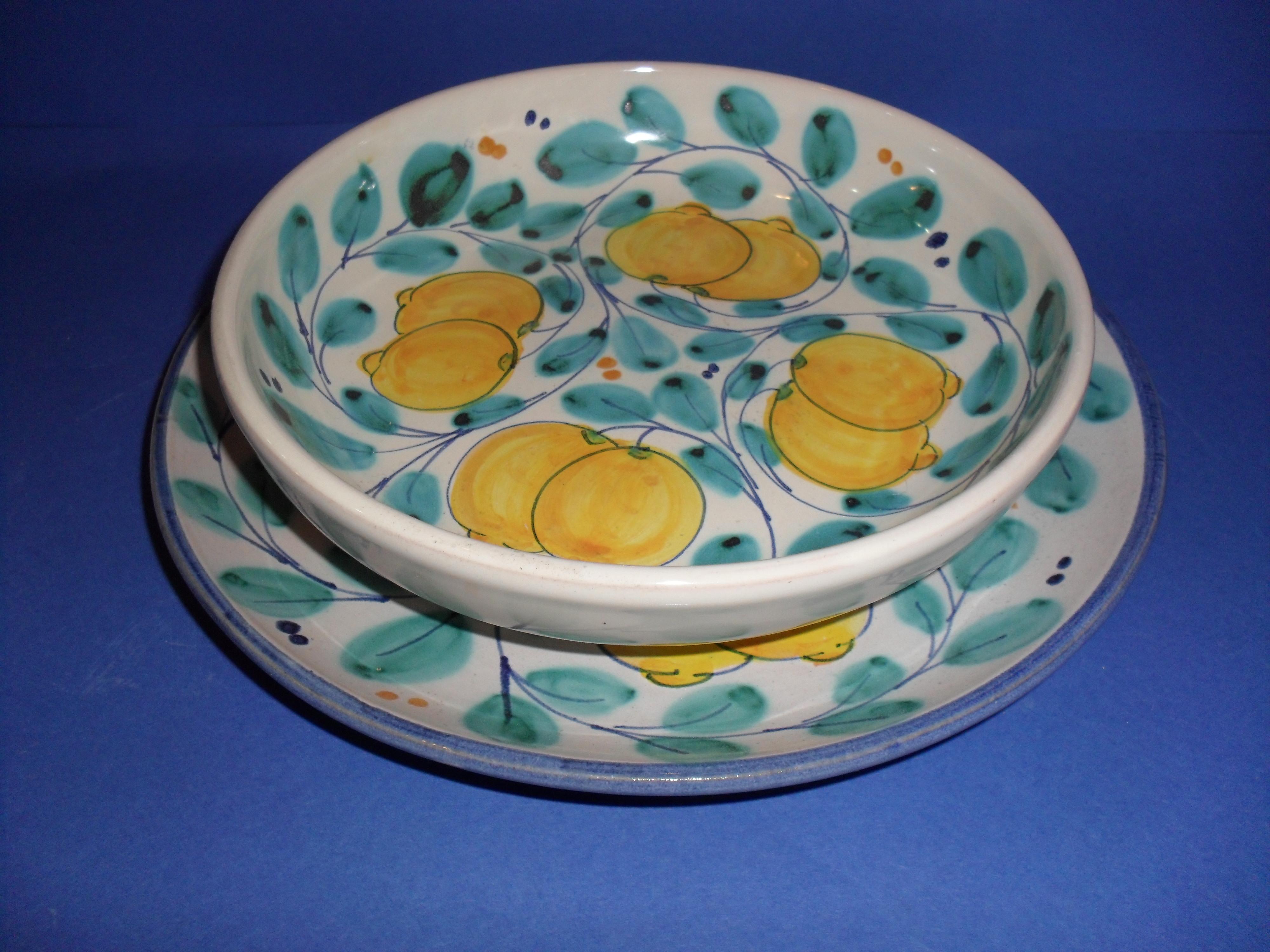 Servizio piatti ceramiche caruso giuseppe ceramiche for Servizio di piatti