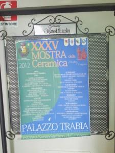 XXXV Mostra della ceramica - Santo Stefano di Camastra - 21 luglio-31 agosto